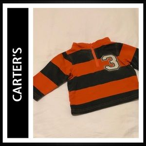 Carter's Long Sleeve 1/2 Zip Sweatshirt